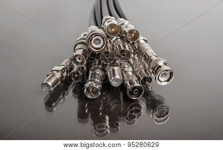 Coaxial connectors