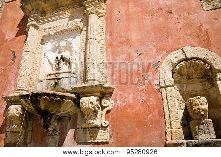 Fountain, Militello In Val Di Catania, Sicily