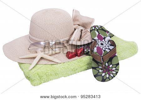 Beach Set With Sun Hat