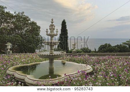 Layout Fountain Of Bakhchisarai