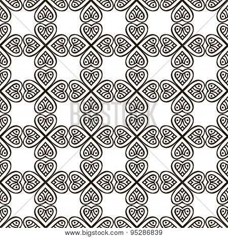 Vector ethnic seamless pattern
