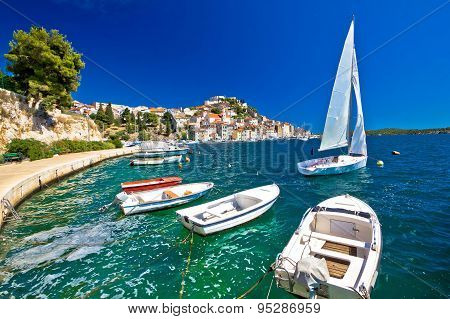 Unesco Town Of Sibenik Coast View