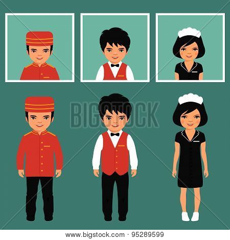 hotel service profession,