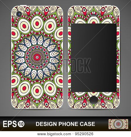 Phone case design.