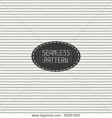 Vector retro horizontal line stripes geometric seamless pattern. Wrapping paper. Paper for scrapbook