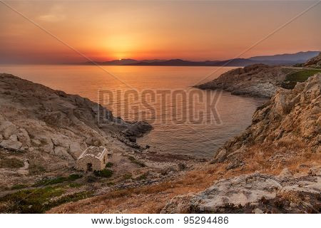 Sunrise At Ile Rousse In Corsica
