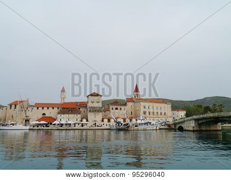 The Croatian historical old town Trogir