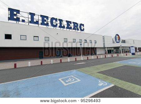 Leclerc Is A French Supermarket