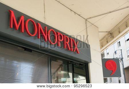 Monoprix Retail Store In Valence
