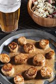 picture of scallops  - Low - JPG