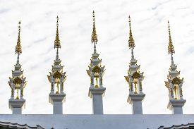 foto of apex  - Gable Apex Thai Temple  - JPG