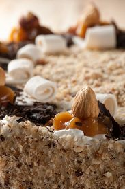 pic of torte  - Nut  chocolate cake - JPG
