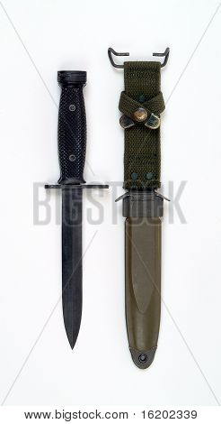 Vietnam Period American M7 Bayonet For M16 Rifle
