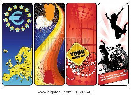 stylish banners