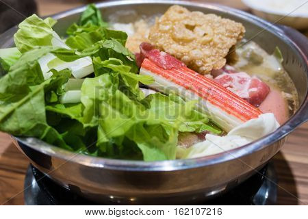Traditional Taiwanese Hot Pot