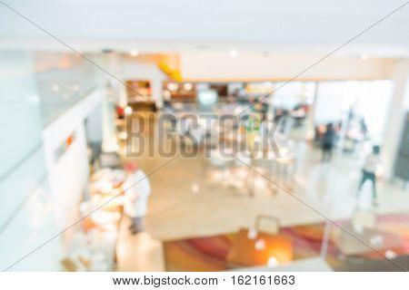 Abstract blur Buffet hotel restaurant