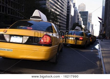 New York Taxi's 2