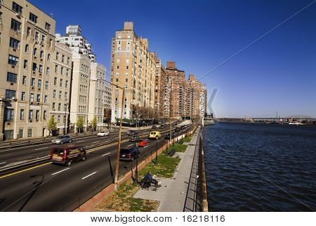 Upper East Side River NYC