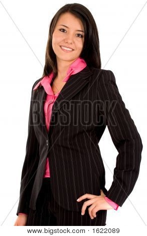 Friendly Business Woman