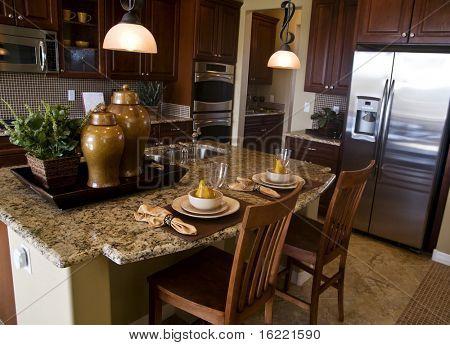 Showcase Modern Kitchen Interior