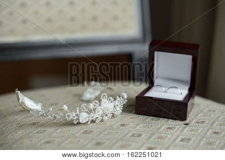 wedding rings in