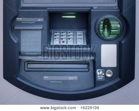Bank teller machine