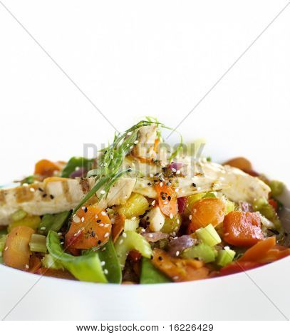 Pollo saludable Stir Fry