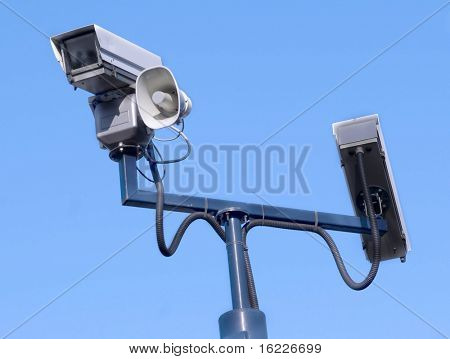 Close circuit security camera's