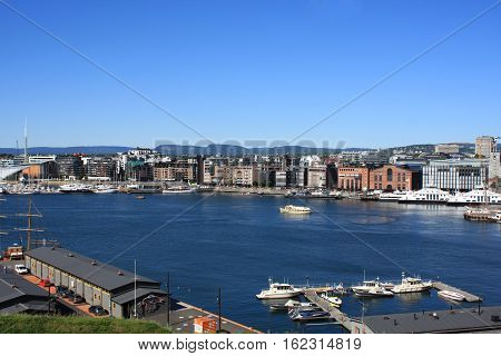 The Oslo Norway Harbor is one of Oslo's great attractions. Situated on the Oslo Fjord in Oslo Norway
