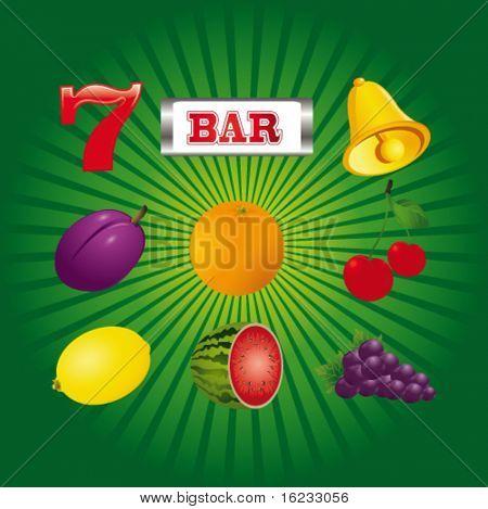 Slot mashine fruit