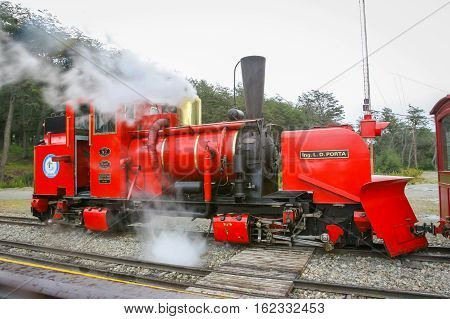Steamy Train