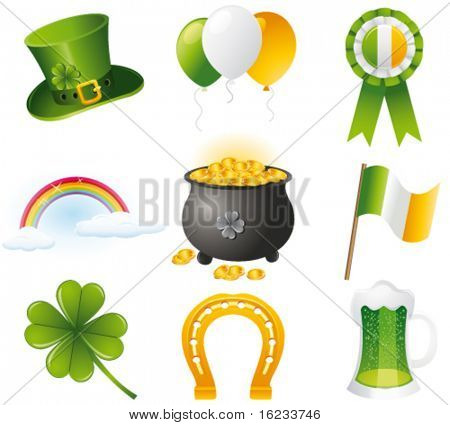 St. Patrick`s day icon. Vector