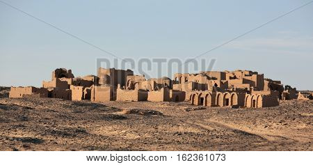 Tombs of the Al-Bagawat (El-Bagawat), an early Christian necropolis, one of the oldest in the world, Kharga Oasis, Egypt