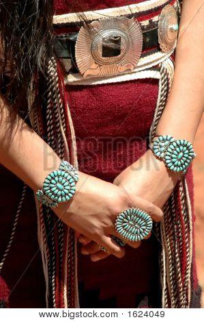 Traditional Navaho Jewelery