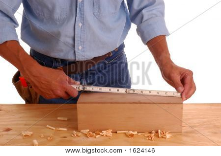 Carpenter Measuring Box