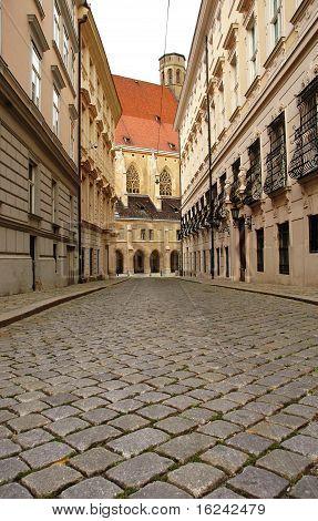 Paving Street In Vienna