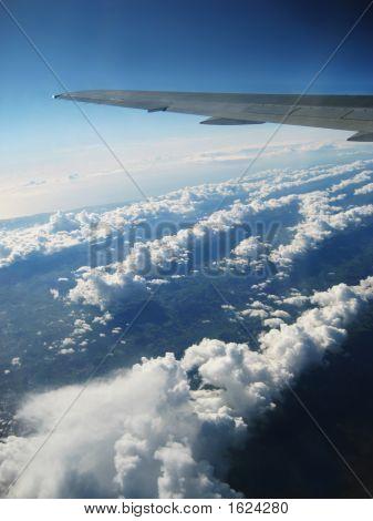 Clouds, Airplane Aerial