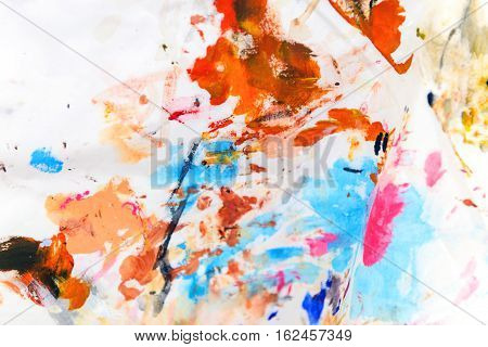 Watercolor Stained Cloth, Watercolor Background
