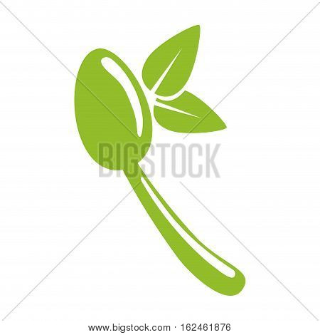 Natural food gastronomy icon vector illustration graphic design