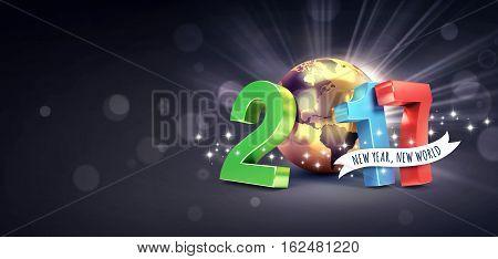 2017 Worldwide Greeting Card