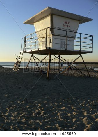 Lifeguard Tower Off Duty