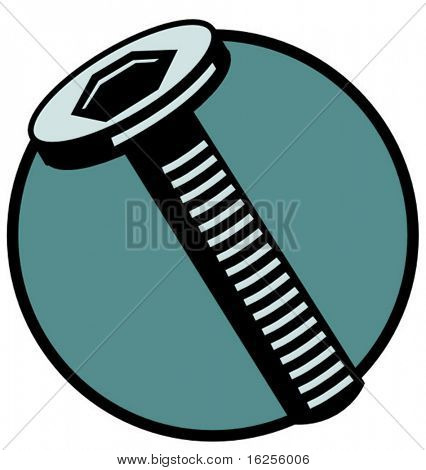 hex-head screw
