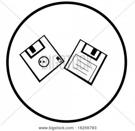 floppy disk symbol
