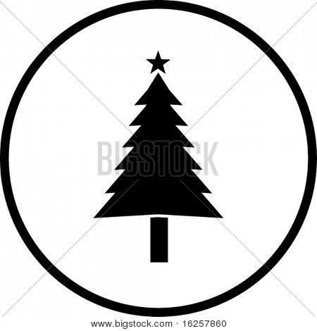 símbolo del árbol de Navidad
