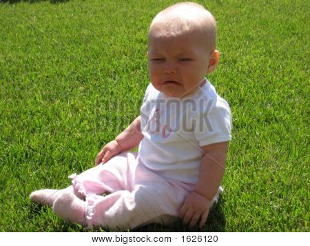 Crying Baby In The Grass