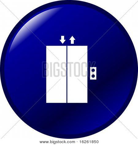botón del elevador