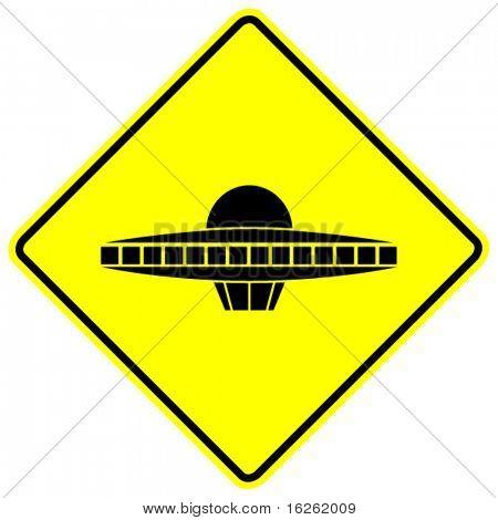 ufo ship sign