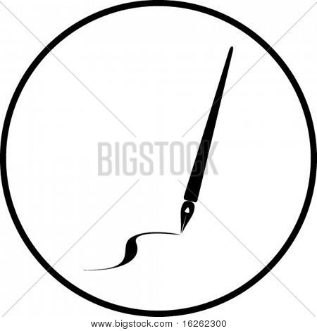 pen stroke symbol