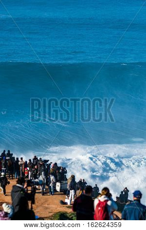 Crowd Waiting For The Surfers