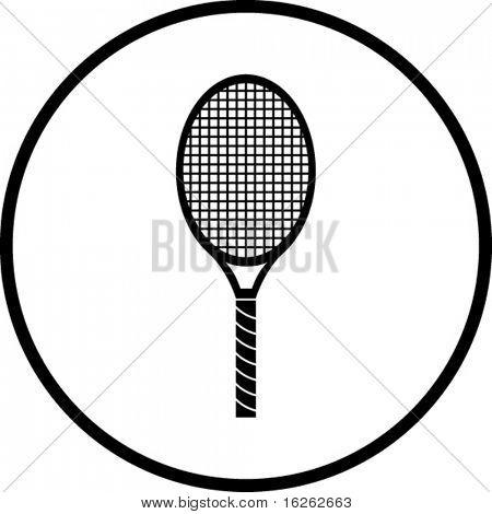 tennis racquet symbol